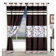 Storyathome Set of 2  Window curtain-5 feet-WCL_2-1016