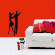 Couple Decorative Wall Sticker-WS-08-117