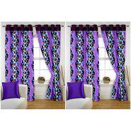 Storyathome Set of 4  Window curtain-5 feet-WTZ_2-1015