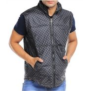 Pistn Sleeveless Jacket For Men_WV0011065 - Brown