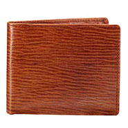 Walletsnbags Nova Long Grain Leather Wallet - Brown