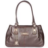 Xccess Genuine Leather Brown Handbag -Xlhb07