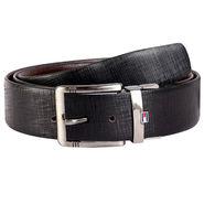 Genuine Leather Belt For Men_Xlmb01 - Black