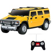 Full Function Rechargeable RC Hummer H2 SUV Toy - Yellow
