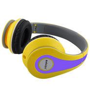 Zebion U 'N' Hue -250 Yellow & Blue Headphone (Yellow & Blue)