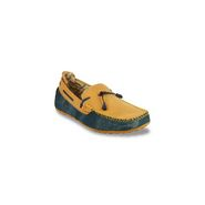 Bacca bucci-Canvas-loafers -yellow:blue