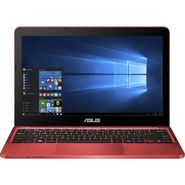 Asus X205TA-FD0061TS 90NL0732-M07390 Intel Atom Quad Core - (2 GB DDR3/32 GB EMMC HDD/Windows 10) Netbook(11.6 inch, Red))