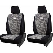 Branded Printed Car Seat Cover for Fiat Linea - Black