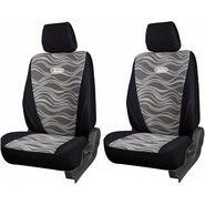 Branded Printed Car Seat Cover for Tata Nano - Black