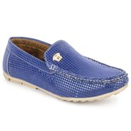 Foot n Style Blue Loafers -Fs3057