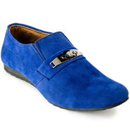 Foot n Style Suede Leather Black Casual Shoes -fs3122