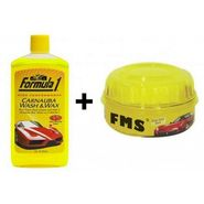 Combo Of Car Shampoo And Wax-shampoo_combo