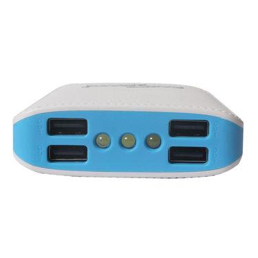 Callmate Power Bank 3 Light 4 USB 10400 mAh - Blue
