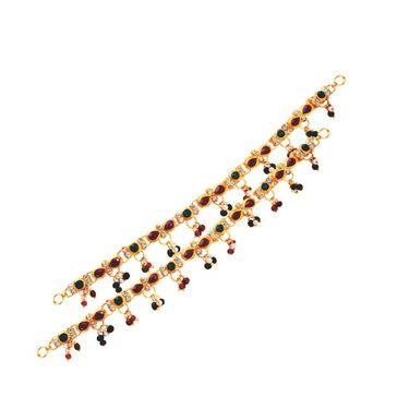 Kriaa Combo of 7 Jewellery Set With Free Payal