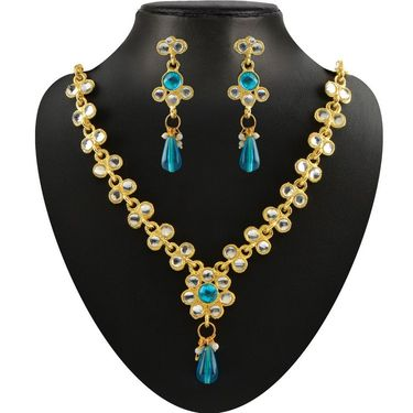 Kriaa Combo of 7 Jewellery Set With Free Payal Earring & Ring