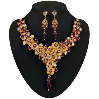 Kriaa Combo of 6 Jewellery Set With Free Earring