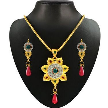 Kriaa Combo of 5 Jewellery Set With Free Manglasutra & Ring
