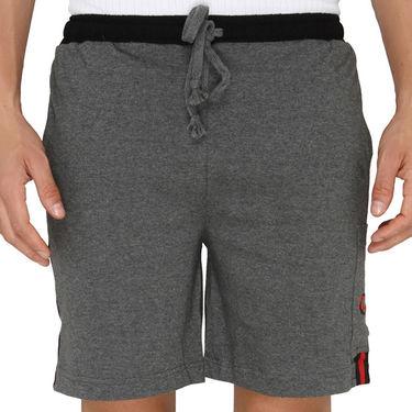 Chromozome Regular Fit Shorts For Men_10272 - Grey