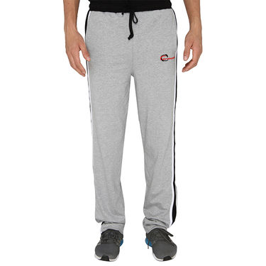 Chromozome Regular Fit Trackpants For Men_10415 - Grey