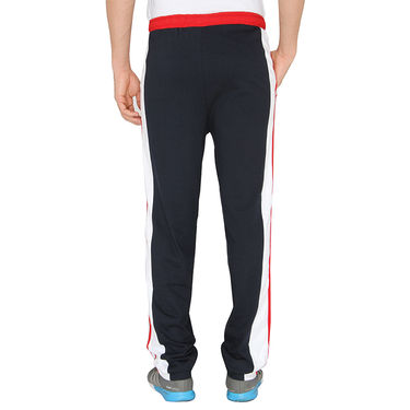 Chromozome Regular Fit Trackpants For Men_10420 - Navy