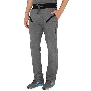 Chromozome Regular Fit Trackpants For Men_10499 - Grey