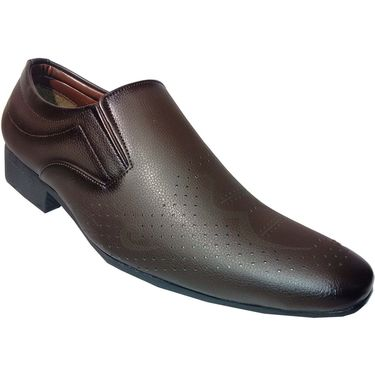 Branded Brown Formal Shoes - 1115M