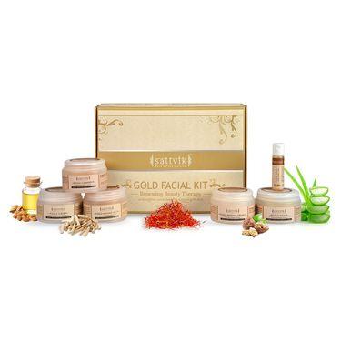 Sattvik Organic Gold Facial Kit - (260g)
