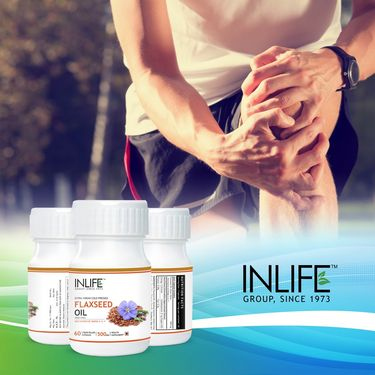INLIFE Omega 3,6,9 Supplement - 60 Capsules