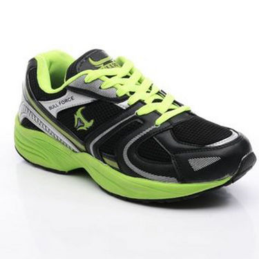 Bacca bucci-Rubber mesh-Sports Running shoes-black:green-5817