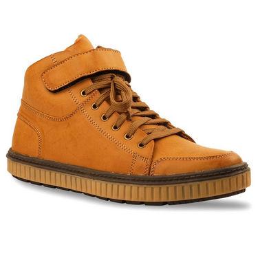 Bacca bucci Leather  Sneakers 924-tan-sneakers-Tan