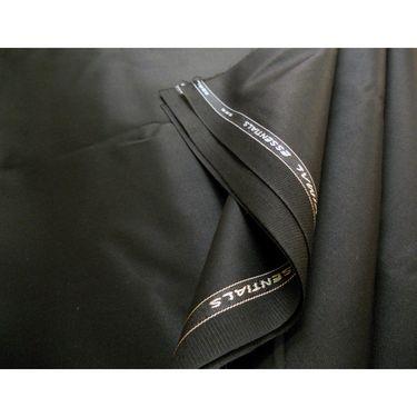 Vimal Suit Length (Coat + Trouser) For Men - Black
