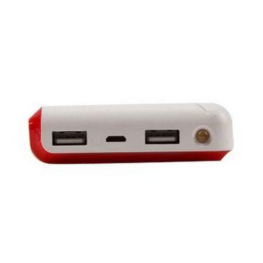 Callmate  12000 mAH Dream Power Bank  Dual-USB - Red
