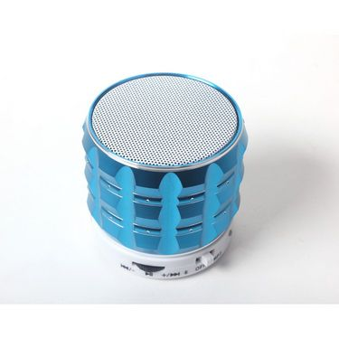 Callmate Gear Bluetooth Speaker with Hands-free Call, Aux & USB/TF Card Reader - Sky Blue