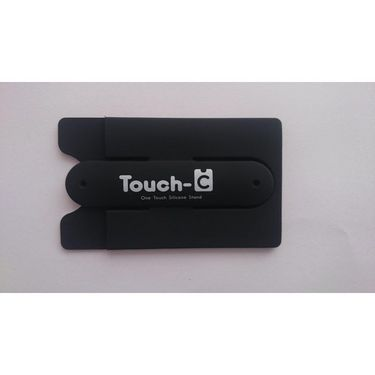 Flashmob Touch U Mobile Stand With Credit Card Holder - Black