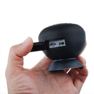 Callmate Mini Waterproof Bluetooth Speaker - Black