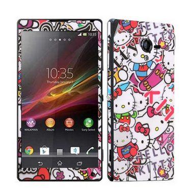 Snooky Mobile Skin Sticker For Sony Xperia ZL - Multicolour