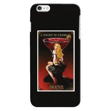 Snooky 19901 Digital Print Hard Back Case Cover For Apple iPhone 6 Plus - Black