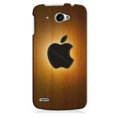 Snooky 20052 Digital Print Hard Back Case Cover For Lenovo S920 - Brown