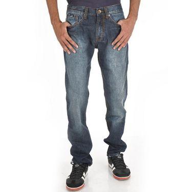 Gas Slim Fit Cotton Jeans For Men_gbds - Blue