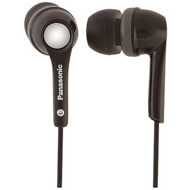 Panasonic RP-HJE200E-K In-Ear Canal Earphone  for Ipod / MP3 player - Black
