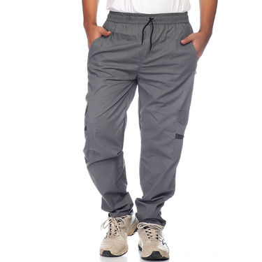 Delhi Seven Cotton Plain Lower For Men_Mumpj026 - Grey
