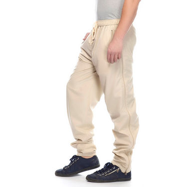 Delhi Seven Cotton Plain Lower For Men_Mupjm003 - Off White