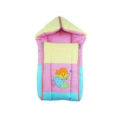 Ole Baby 3 in 1 Icecream Sandwich Reversible Carry Nest Cum Sleeping Bag with Hood_OB-CRNT-B121