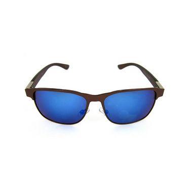 Flying Machine Wayfarer Sunglasses For Men_fms101col106 - Blue