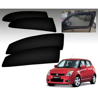 Set of 4 Premium Magnetic Car Sun Shades for SwiftOld