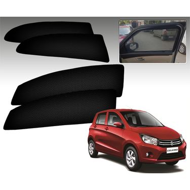 Set of 4 Premium Magnetic Car Sun Shades for Celerio