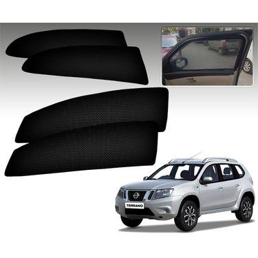 Set of 4 Premium Magnetic Car Sun Shades for Tataindica