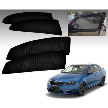 Set of 4 Premium Magnetic Car Sun Shades for SkodaOctaviaOld