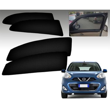 Set of 4 Premium Magnetic Car Sun Shades for NissanMicra
