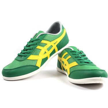 Globalite Mesh Casual Shoes GSC0345 -Green Yellow